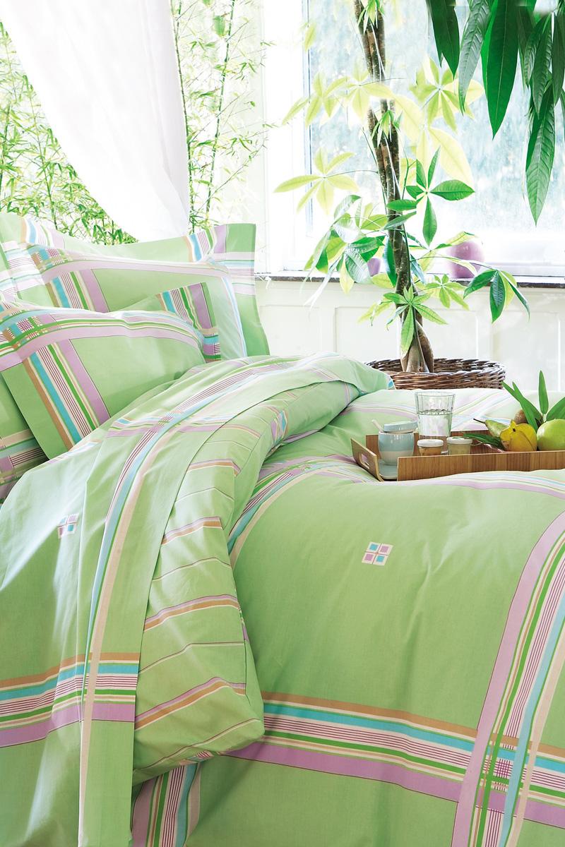 Lifestyle deco el verde is in the air - Couette imprimee francoise saget ...