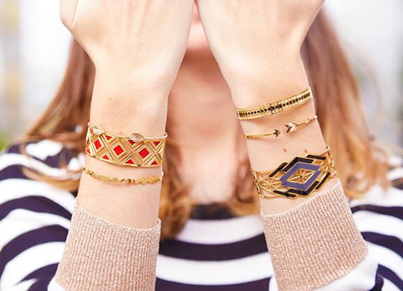 Nouveaux bijoux manchettes #collectionIRL